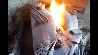 Penyepuhan (hardening/quenching) Golok Patimura AMH BLADE