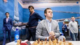 SURPRISE CARLSEN!! Samuel Shankland vs Magnus Carlsen    Tata Steel Chess 2019 - R9