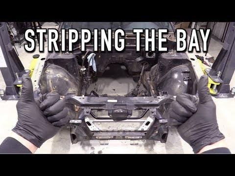 Stripping The Engine Bay (RB25 Swap Pt.2): 240SX Restomod Ep.26