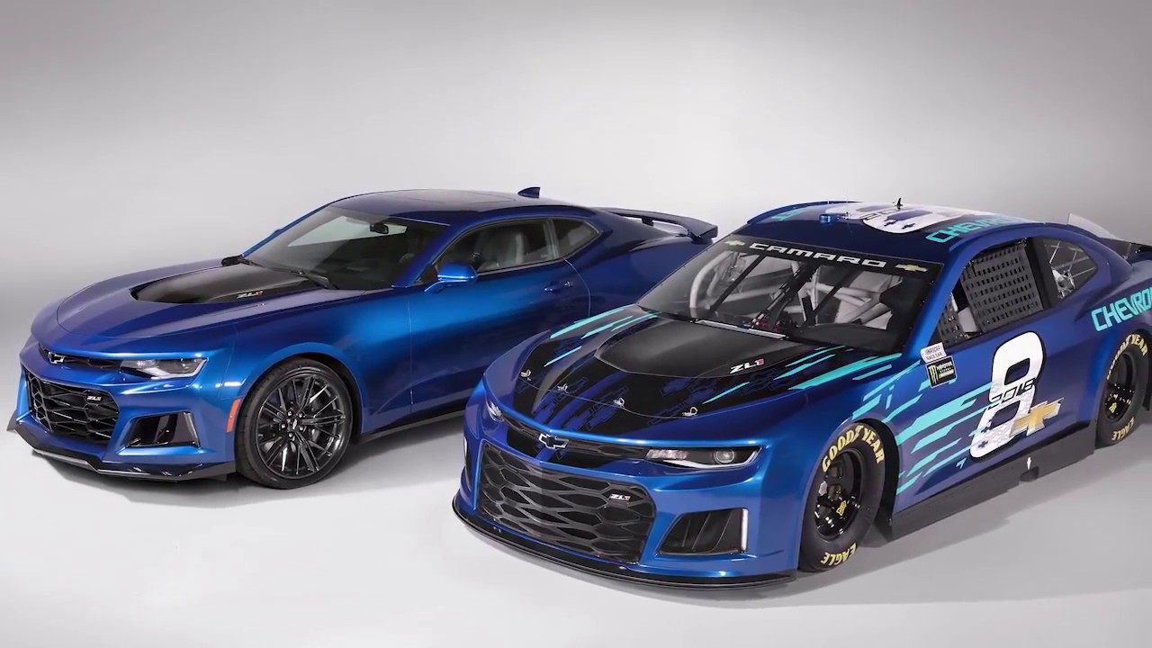 Chevrolet To Run Camaro In Monster Energy Nascar Cup