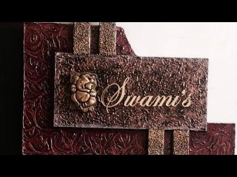 Awesome designer nameplates collection