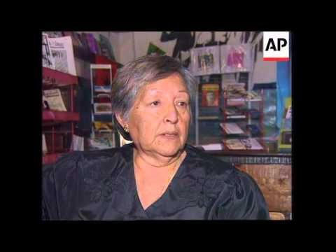 ITALY: ROME: MOTHER & SISTER OF FORMER TUPAC AMARU LEADER VISIT
