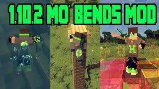 Minecraft Harika Hareketler Modu [ 1.10.2 Mo' Bends Mod ]