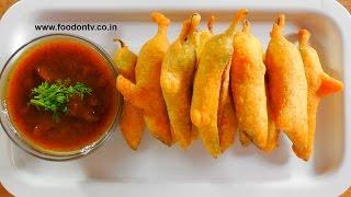 Crispy Chilli Fritters Recipe-indian Gujarati Bhajiya- Every Day Special Episode 8
