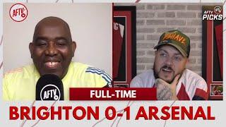Brighton 0-1 Arsenal | I'm Not Backing Down - Arteta Is The Right Man! (DT)