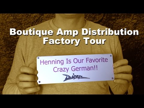 Boutique Amp Distribution Factory Tour - Friedman, Morgan, 65, Tone King, Wampler etc.