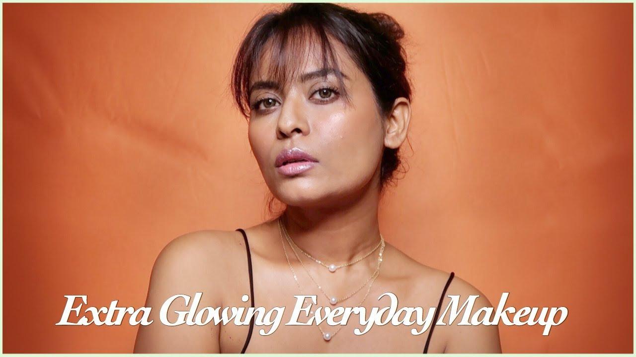 EVERYDAY MAKEUP - NATURAL SKIN FINISH MAKEUP LOOK   Priyanka