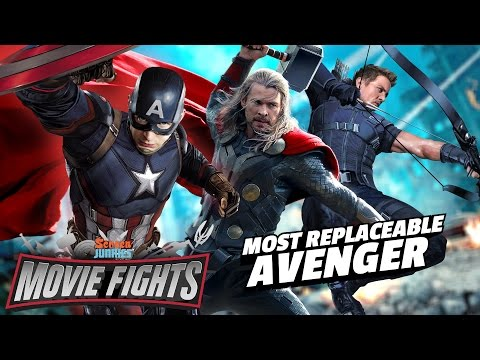 What Avengers Actor Is the Most Replaceable? - MOVIE FIGHTS!!