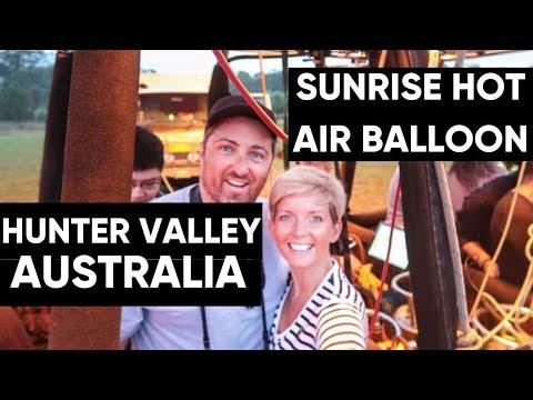 Sunrise Balloon Flight In The Hunter Valley With Balloon Aloft