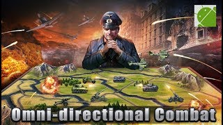 WW2 Strategy Commander - Android Gameplay FHD