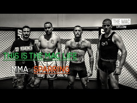 Conor McGregor MMA sparring before UFC 202 #TheMacLife