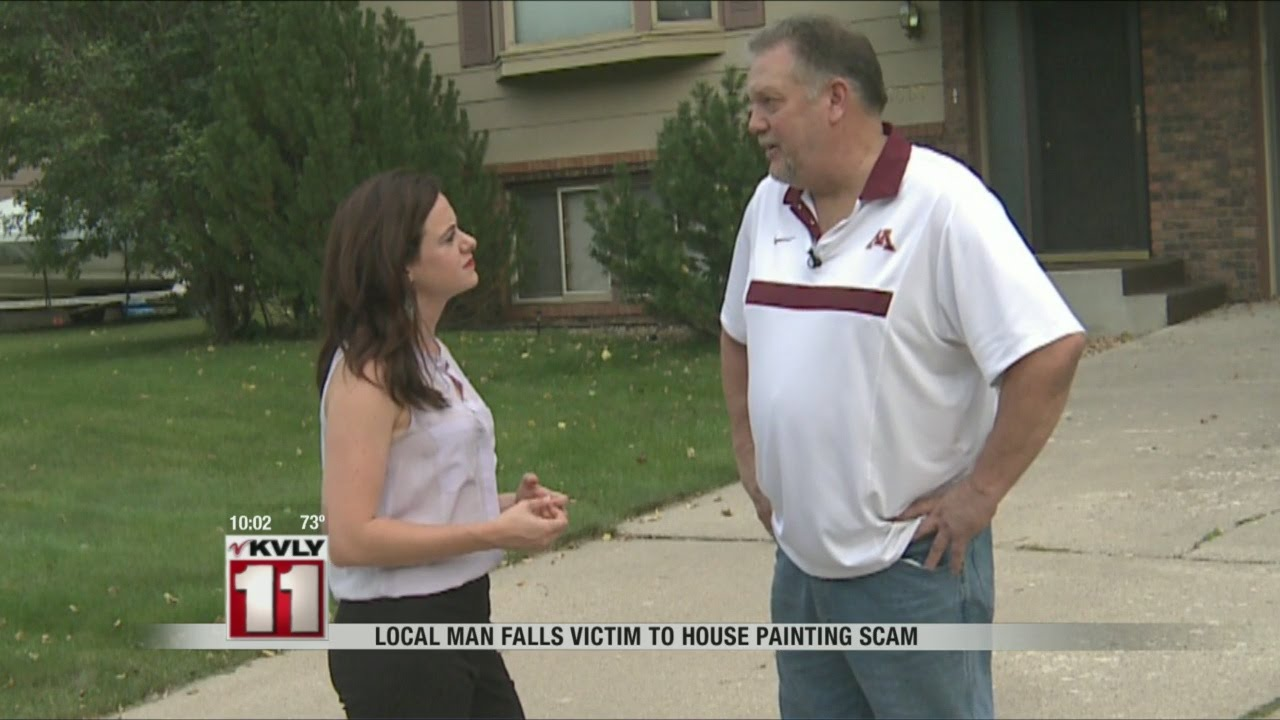 Man Falls Victim to House Painting Scam