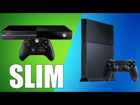 ps4 slim xbox one slim at e3 2015 gaming news e3 predictions youtube. Black Bedroom Furniture Sets. Home Design Ideas