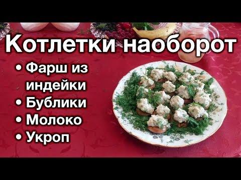 рецепт класических котлет