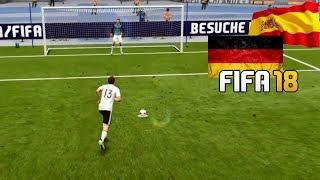 Deutschland gegen Spanien ⚽ DFB Länderspiel Orakel ⚽ FIFA 18