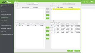 ZKTeco k30 Configuracion Basica
