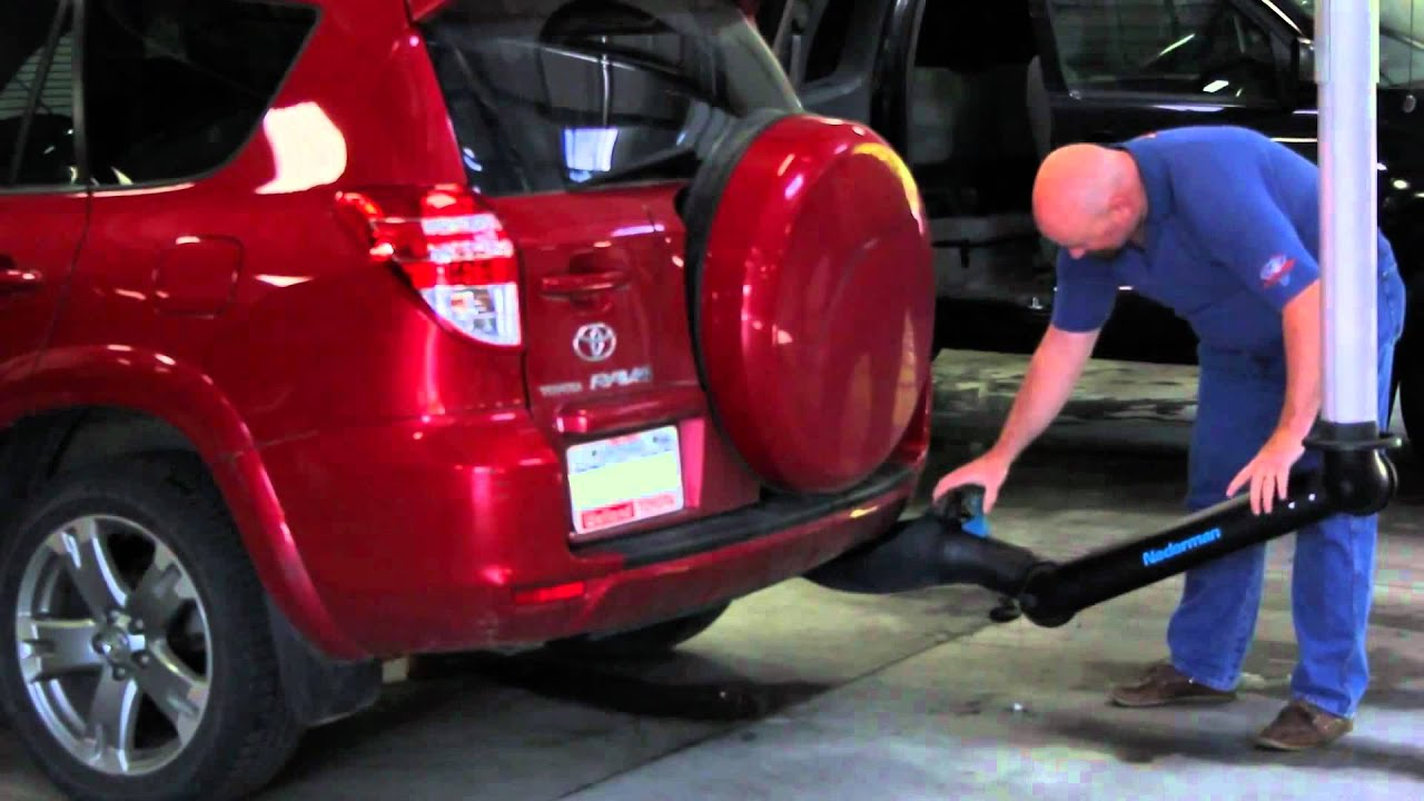 nederman touchless exhaust extraction system