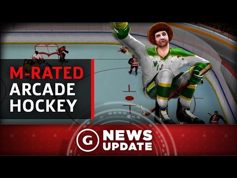 Ps4 And Pc Get M Rated Arcade Hockey Game Next Month Gs News