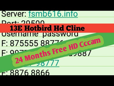 2 years free hd cccam server 2019 free hd cccam cline for hotbird