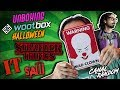 IT Eso Stranger Things Saw Halloween Wootbox Unboxing