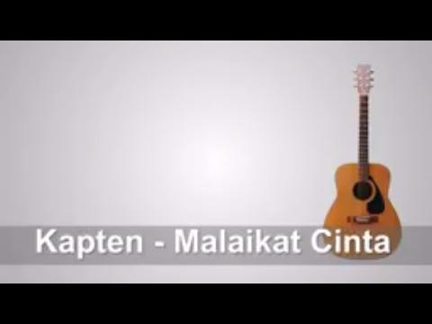 Lirik Lagu Kapten - Malaikat Cinta + Chord