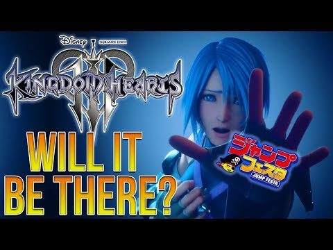 Jump Festa is Almost Here, Where's Kingdom Hearts 3 at?