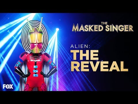 The Alien Is Revealed | Season 1 Ep. 7 | THE MASKED SINGER