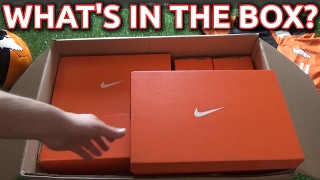 What's In The Box? Nike Radiation Flare Football Boots!