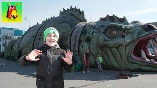 Комната страха ВНУТРИ огромного дракона Реально СТРАШНО