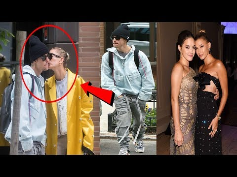 Hailey Baldwin kisses Justin Bieber after sister revealed couple are 'up and down' with wedding