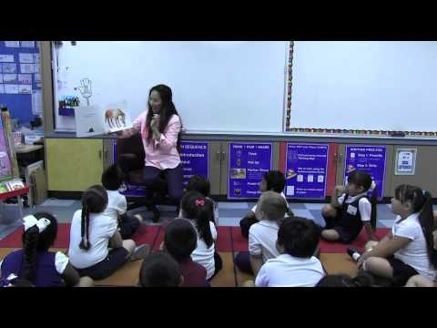 Kindergarten Shared Reading Day 1