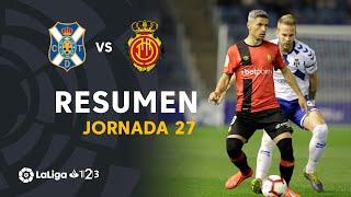 Resumen de CD Tenerife vs RCD Mallorca (2-2)