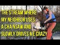The stream where my neighbor uses a chainsaw & slowly drives me crazy (Fortnite Gameplay)