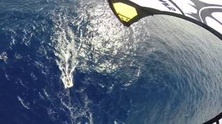 Kitesurfing Accross the Atlantic Rider Switch