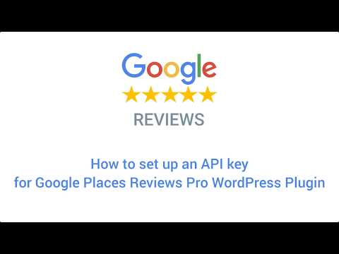 How To Get Google Review API Key - NinjaTeam (Updated July 2018)