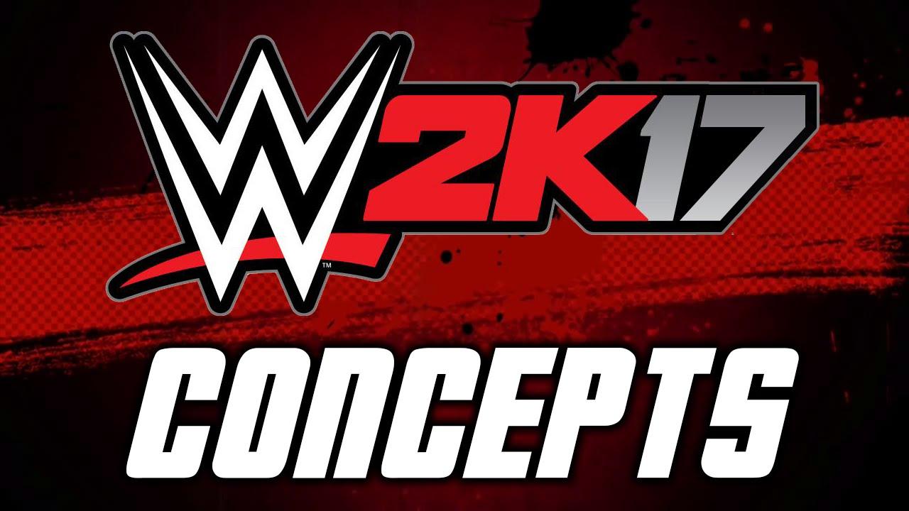 creation logo wwe 2k17