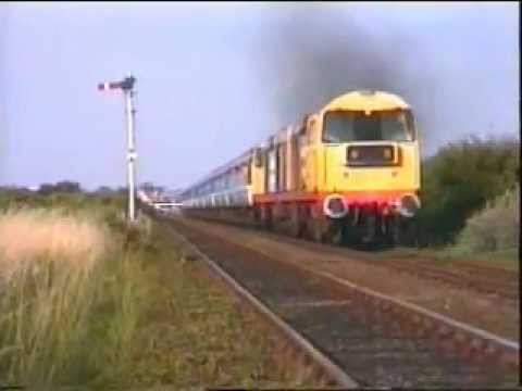 Class 20 Power Thrash Action at Skegness.wmv