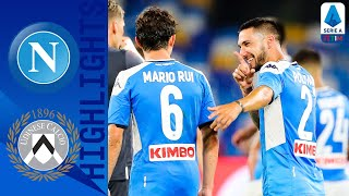 Napoli 2-1 Udinese | Politano's stoppage time wonder goal wins it for Napoli! | Serie A TIM