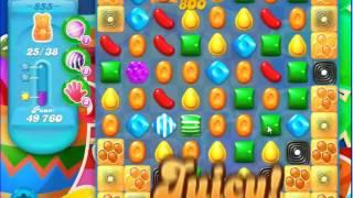 Candy Crush Saga SODA Level 855 CE