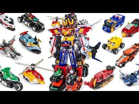 Thumbnail: PowerRangers RPM EngineOh G12 RPMUltraZord HighOctane Zenith SkyRev Paleomax Docking Transformation