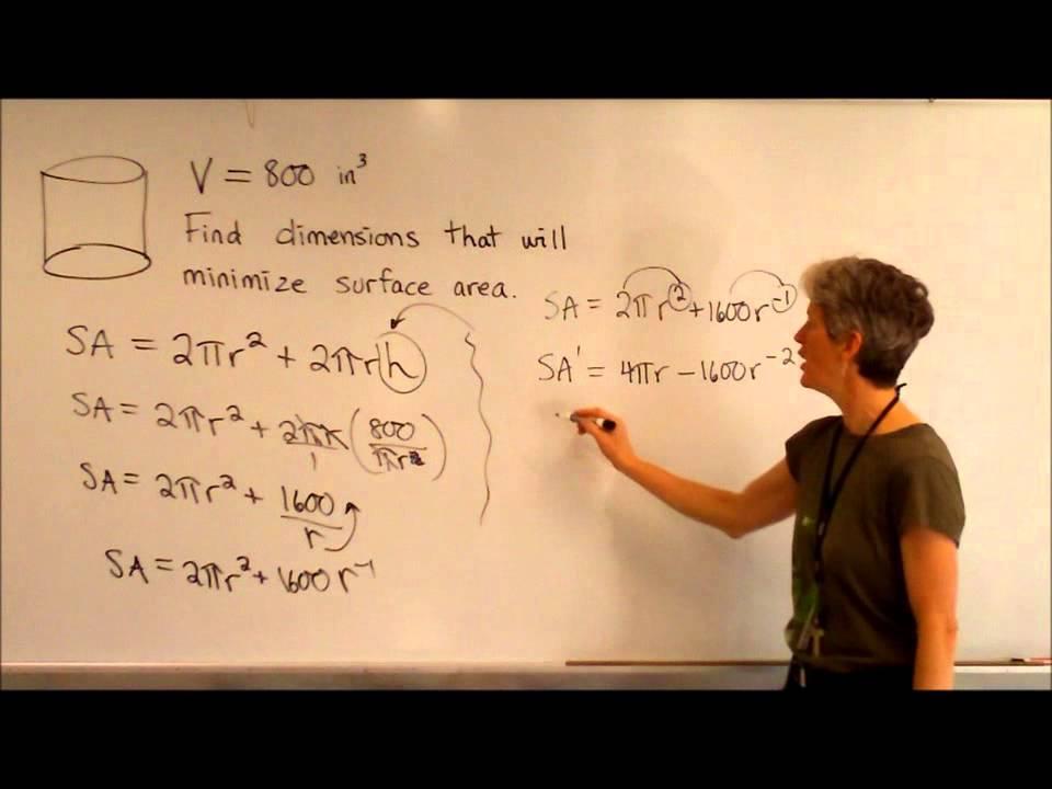 Optimization cylinder problem youtube ccuart Choice Image