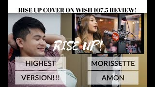 "[REACTION] MORISSETTE AMON'S Highest Version of ""RISE UP"" at WISH 107.5 Bus 