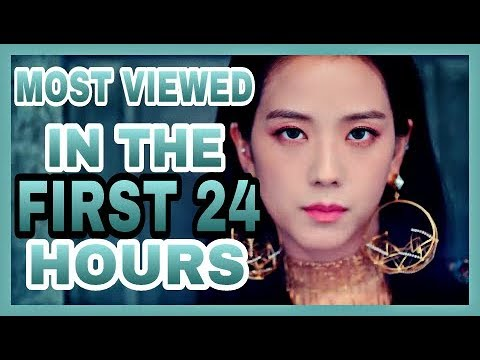 [TOP 10] Most Viewed KPOP Music Videos In First 24 Hours