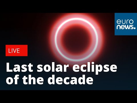 The Last Solar Eclipse Of The Decade | LIVE