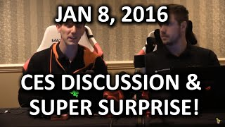 The WAN Show - CES Recap & VR Discussion with Special Guests BS Mods - Jan 8, 2016