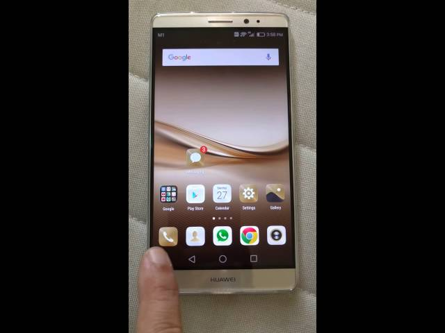 Huawei phone EMUI Emotion UI how to restore phone dialer icon if you lost it
