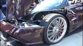Supercars & Motor Carriages // CARS & COFFEE Blackhawk, CA Show // May 2018