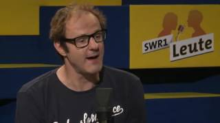 Vince Ebert über Lampenfieber, den Odenwald und den allerersten Auftritt