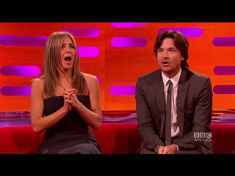 Jennifer Aniston Gets a Surprise From The Audience - The Graham Norton ...