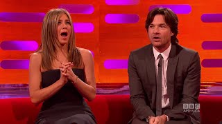 Jennifer Aniston Gets a Surprise From The Audience - The Graham Norton Show on BBC America